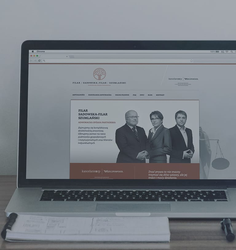 Responsive Website for Law Firm